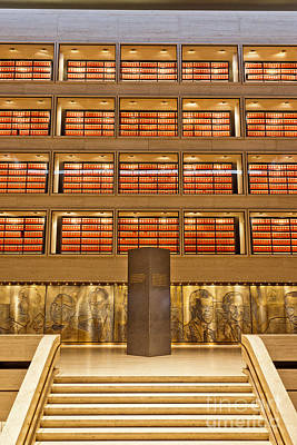 The Great Hall, Lbj Library & Museum Print by Inga Spence