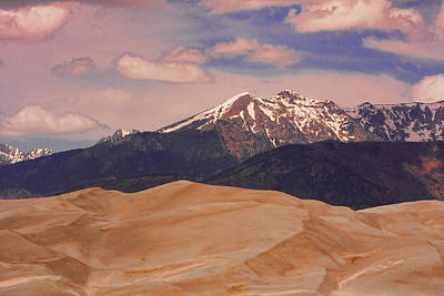 The Great Sand Dunes And Sangre De Cristo Mountains Print by James BO  Insogna