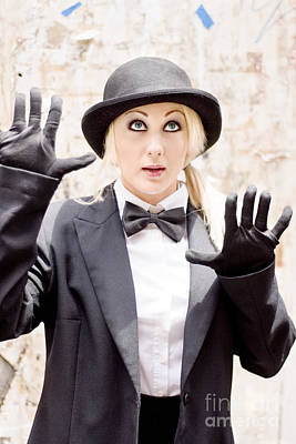 The Great Wall Of Mime Print by Jorgo Photography - Wall Art Gallery