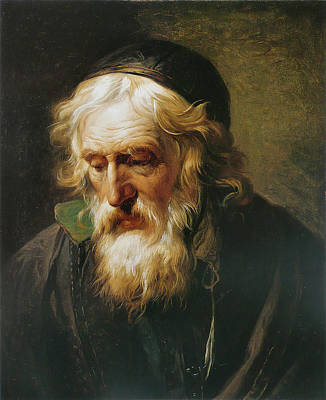 Painting - The Greek Priest by Francois-Andre Vincent