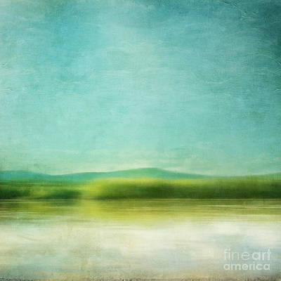 Spring Time Photograph - The Green Haze by Priska Wettstein