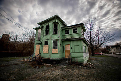 Syracuse Photograph - The Green House by George Patterson