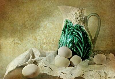 The Green Leaf Print by Diana Angstadt