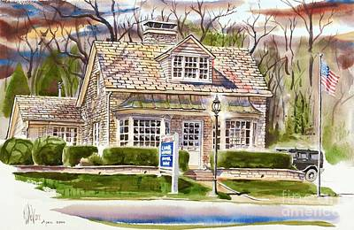 Drama Mixed Media - The Greystone Inn In Brigadoon by Kip DeVore