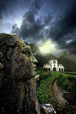 Lichen Photograph - The Guardian by Meirion Matthias