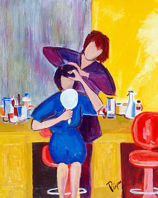 The Hair Dresser Original by Betty Pieper