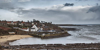 Anstruther Photograph - The Harbour Of Crail by Jeremy Lavender Photography