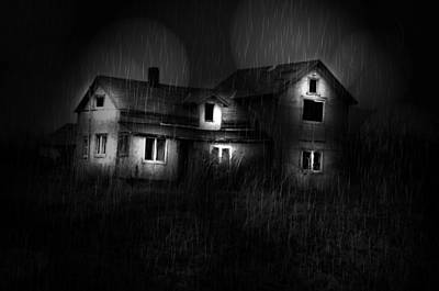 Storms Photograph - The Haunted Side by Emily Stauring