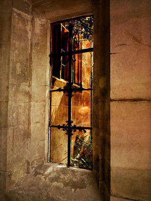 Famous Haunts Photograph - The Haunted Window by Connie Handscomb