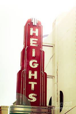 Squint Photograph - The Heights Flare by Sonja Quintero