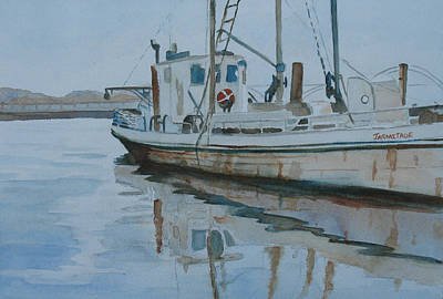 The Helen Mccoll At Rest Print by Jenny Armitage