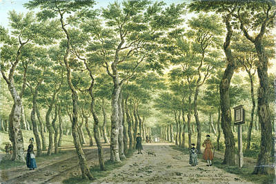 Painting - The Herepad In The Haagse Bos by Paulus Constantijn La Fargue