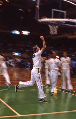 Larry Bird Photograph - The Hick From French Lick by Mike Martin
