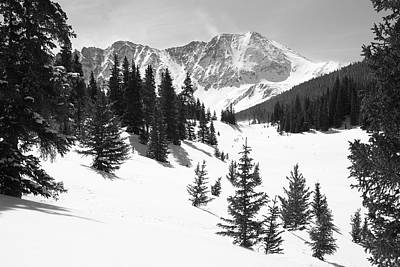The High Country Print by Eric Glaser