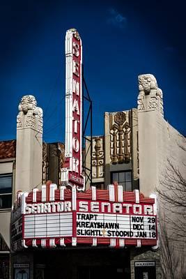 The Historic Senator Theatre Print by Mountain Dreams