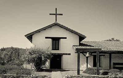 Spanish Landscape Photograph - The Historic Sonoma Mission by Mountain Dreams
