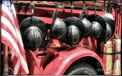 Old Firetrucks Photograph - The History Of Fire  by Steven Digman