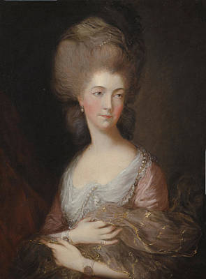 The Hon Mrs Anna Luttrell Duchess Of Cumberland  Print by Celestial Images