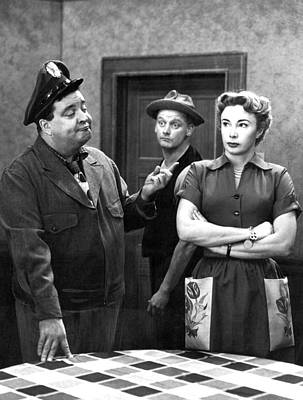 Jackie Gleason Photograph - The Honeymooners 1950s by Mountain Dreams