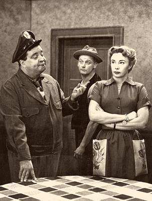 Jackie Gleason Photograph - The Honeymooners by Mountain Dreams