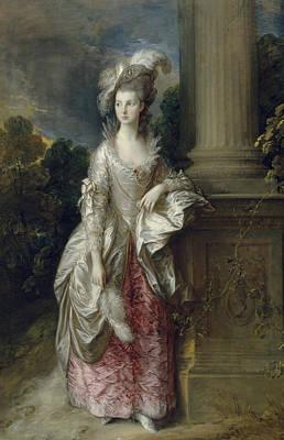 The Honourable Mrs Graham  Print by Thomas Gainsborough