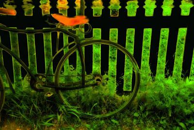 Huisken Digital Art - The Hot Seat by Lyle  Huisken