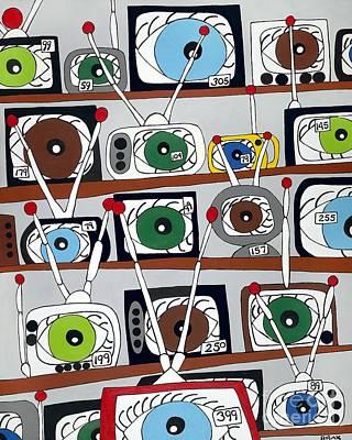 The Hungry Eye Original by Rojax Art