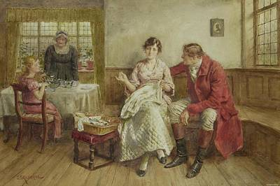 The Huntsmansproposal Print by George Goodwin