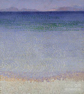 Perspective Painting - The Iles Dor by Henri Edmond Cross