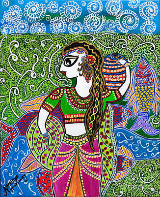 The Indian Fisher Woman Original by Anannya Chowdhury