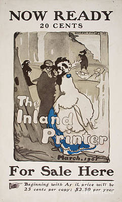 X Men Painting - The Inland Printer. March 1901 by MotionAge Designs