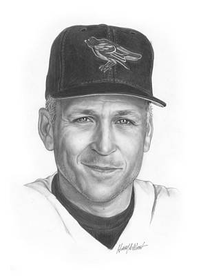 Orioles Drawing - The Iron Man II by Harry West