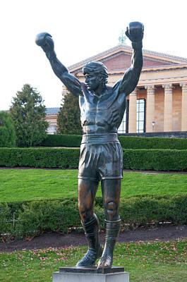 Boxing Digital Art - The Italian Stallion - Rocky Balboa by Bill Cannon