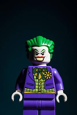 The Joker Print by Samuel Whitton