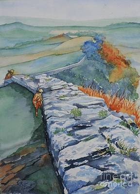 Ancient Wall  Original by Lise PICHE