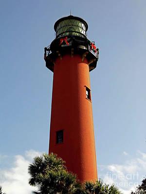 Photograph - The Jupiter Lighthouse by D Hackett