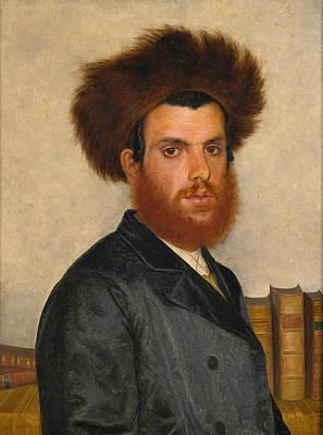 Isidor Kaufmann Painting - The Kabbalist by Isidor Kaufmann