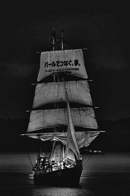 Pirate Ships Photograph - The Kaisei Tall Ship by David Patterson