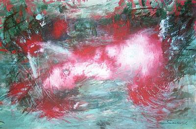 Painting - The Killing Wave by Mary Sedici