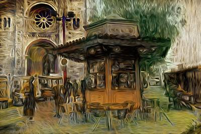 The Kiosk  Original by Daniel Arrhakis
