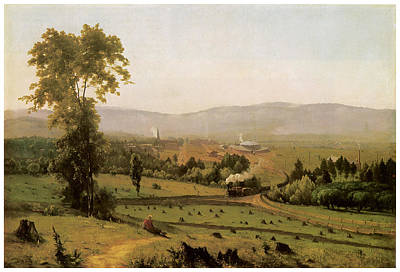 The Lackawanna Valley Print by George Inness