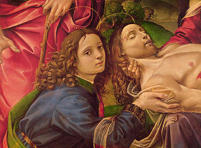 Crying Painting - The Lamentation Of Christ by Capponi