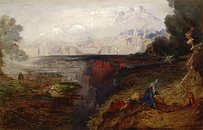 John Martin Painting - The Last Judgement, Study by John Martin