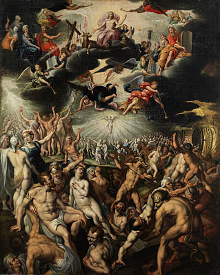 Painting - The Last Judgment by Jacob de Backer