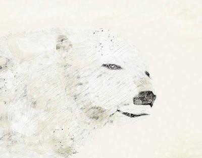 Colourfull Painting - The Last Polar Bear by Bri B