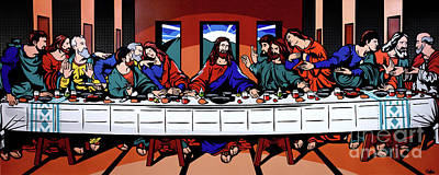 The Last Supper Original by James Lee