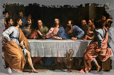 The Last Supper Digital Art - The Last Supper by Luke Tyler