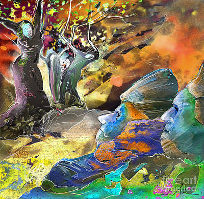 Trial Mixed Media - The Last Trial by Miki De Goodaboom