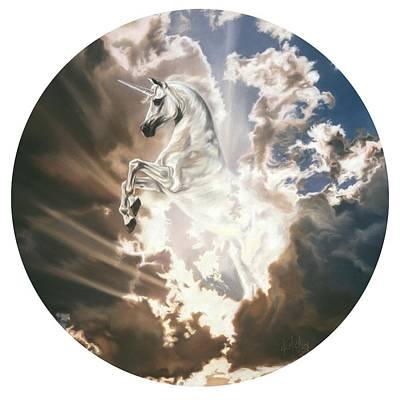 Pastel - The Last Unicorn by Kim McElroy