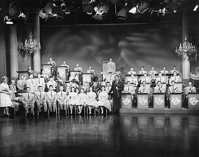 The Lawrence Welk Show Print by Underwood Archives